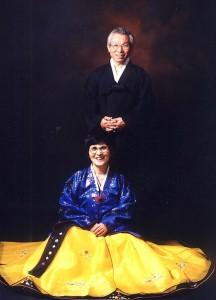 牧師夫妻写真